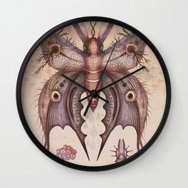 Speyeria lineata Wall Clock