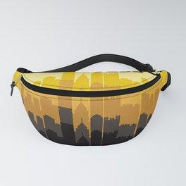Steel City Pittsburgh Skyline Fanny Pack