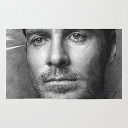 Michael Fassbender - Portrait Rug