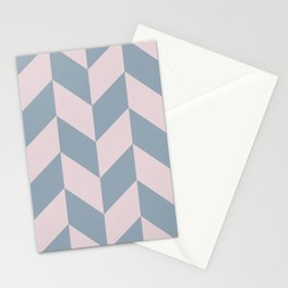 Parallelogram Pattern 9 Stationery Cards