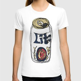 Miller Lite Can T-shirt