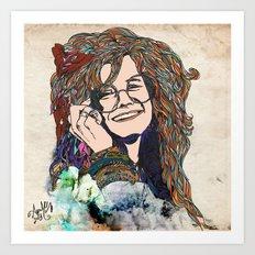 Psychedelic Acid  Art Print