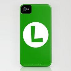 Nintendo Luigi iPhone (4, 4s) Slim Case