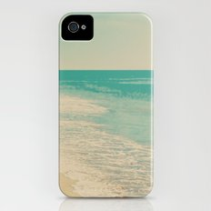 Love Comes In Sea Waves iPhone (4, 4s) Slim Case