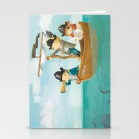 pirates Stationery Cards featuring Pirates! by Joy Paton