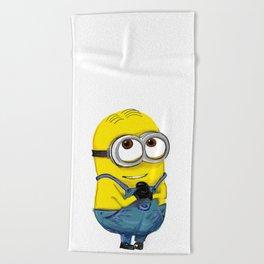 minion Beach Towel
