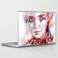 grimes Laptop & iPad Skins featuring grimes by beart24