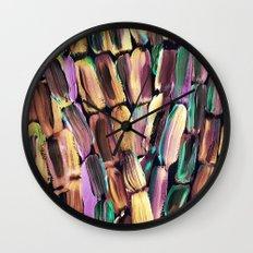 Neon Nighttime Sugarcane Wall Clock