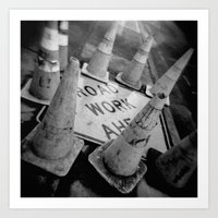 Holga Cones Art Print