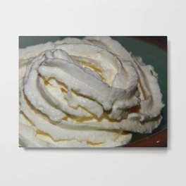 Whipped cream - toddlers delight! Metal Print