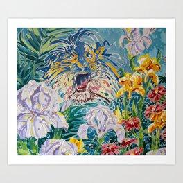 Tiger Lily II Art Print