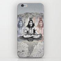 shiva iPhone & iPod Skins featuring Shiva by Jonnea Herman
