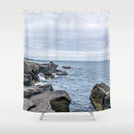 Icelandic Shore Shower Curtain