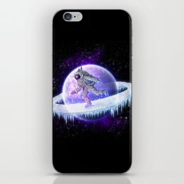 spaceskater iPhone Skin