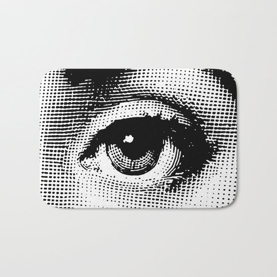 Lina Cavalieri Eye 02 Bath Mat