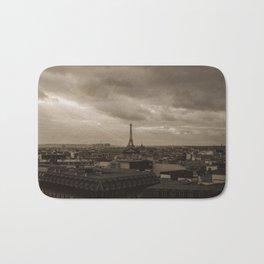 Rooftop view of Paris Bath Mat