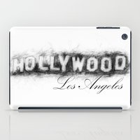 hollywood iPad Cases featuring Hollywood by KitschyPopShop