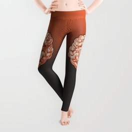 Puzzle brain GINGER / Your brain on puzzles Leggings