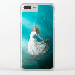 Cathedrals of the Mind Clear iPhone Case