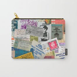 Concert Ticket Stub Backstage Passes - The Boss Carry-All Pouch