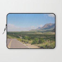 Road Through Big Bend Laptop Sleeve