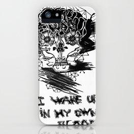 My blood iPhone Case