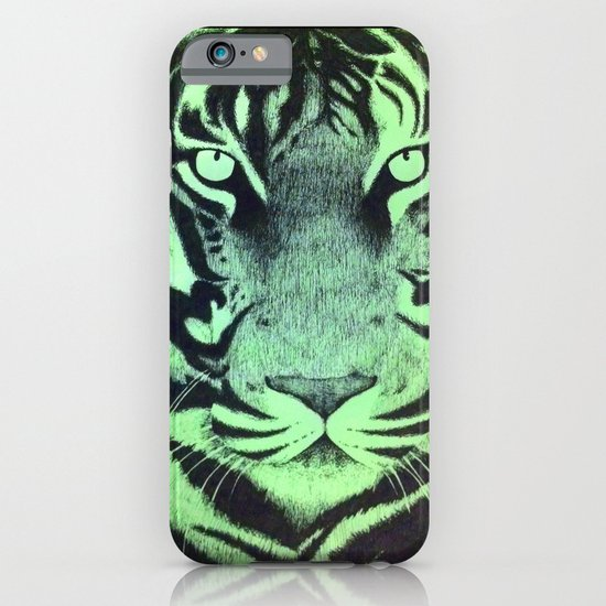 Be A Tiger (Green) iPhone & iPod Case