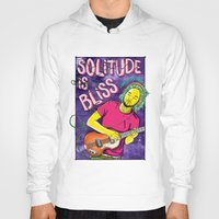 tame impala Hoodies featuring Solitude is Bliss - Tame Impala by JT.Camargo