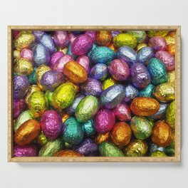 Chocolate Easter Eggs! Serving Tray