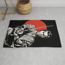 The Samurai Rug