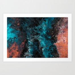 The Galaxy by Murakamistudio Art Print