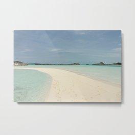 Sandbar Metal Print