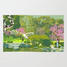 Ume Blossoms Rug