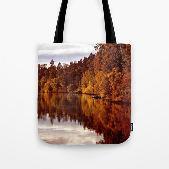 RADIANT AUTUMNAL REFLECTION Tote Bag