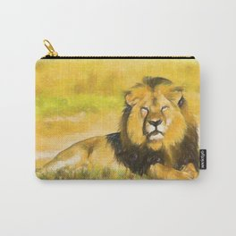 Magnificent Lion Carry-All Pouch