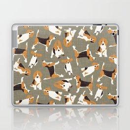 beagle scatter stone Laptop & iPad Skin