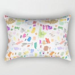 Enneagram Affirmations Rectangular Pillow