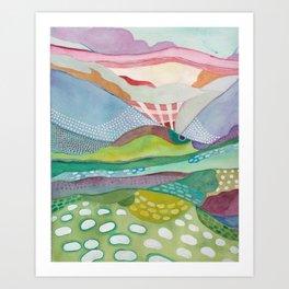 Meadowlark West Art Print