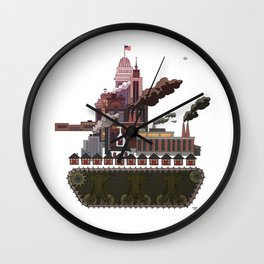 Military-Industrial Complex Wall Clock