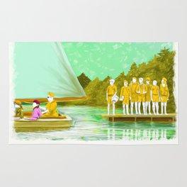 MOONRISE KINGDOM Painting Poster   PRINTS   #M46 Rug