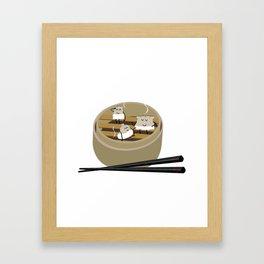 Steam room Framed Art Print
