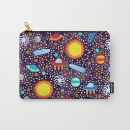 Crazy Cosmos Carry-All Pouch