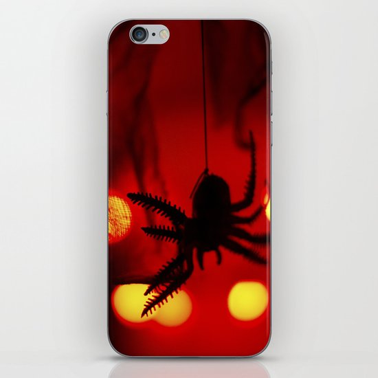 halloween spider iPhone & iPod Skin