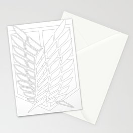 Survey Corps Stationery Cards