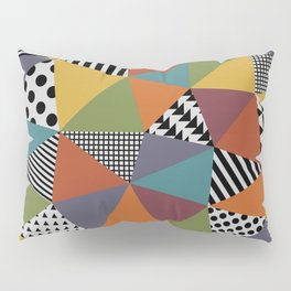 Colorful Geometry Pillow Sham