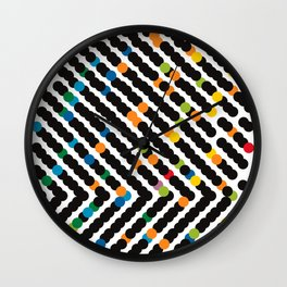 ARROW - dots Wall Clock