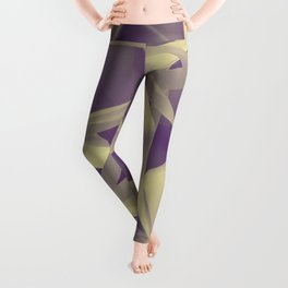 Purple paper Leggings