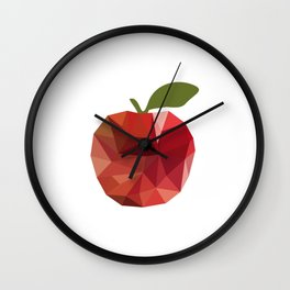 portrait. apple Wall Clock