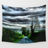 irish Wall Tapestries featuring Irish Skies by Corvus Alyse