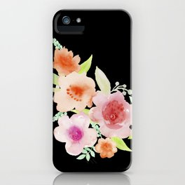 Spanish flowers iPhone Case